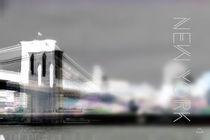 New York City - Brooklyn Bridge by Stefanie Heßling
