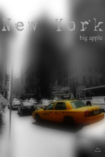 New York City - Taxi by Stefanie Heßling