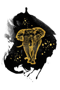 Golden Elephant von AD DESIGN Photo + PhotoArt
