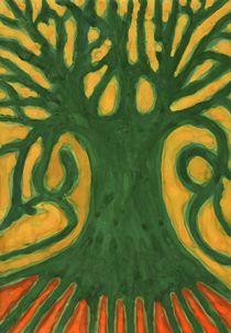 Primitive Tree von Wojtek Kowalski