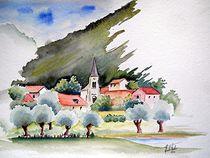 Bourgogne, by Theodor Fischer