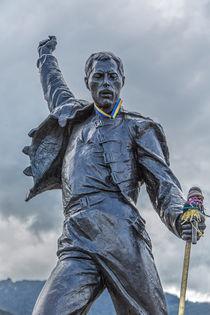 Freddie Mercury in Montreux... by Willi Bido