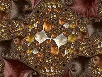 Copper Fractal Ballet von Elisabeth  Lucas