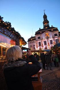 Weihnachtsmarkt Lüneburg von Irmtraut Prien