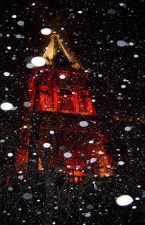 St. Nicolai im Schnee by Irmtraut Prien