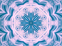 Teal Octagon von Elisabeth  Lucas