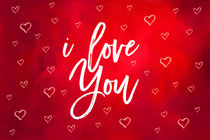 I Love You Red by Elisabeth  Lucas