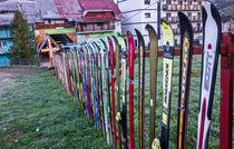 The ski fence by Enache Armand Iustinian