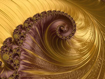 Vanilla and Chocolate Spiral by Elisabeth  Lucas