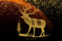 The golden Wapiti by AD DESIGN Photo + PhotoArt