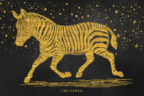 The golden Zebra by AD DESIGN Photo + PhotoArt