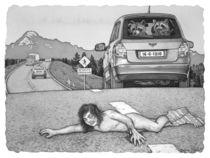 Wildlife Crossing by Barbara Daniels Art