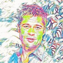 Brad Pitt by unknownparadise