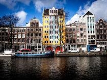 Urban Skyline Amsterdam. von Sean Langton
