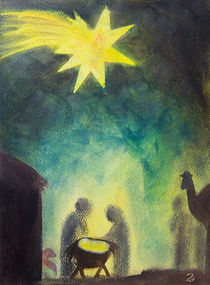 Licht in Bethlehem von Jutta Blühberger