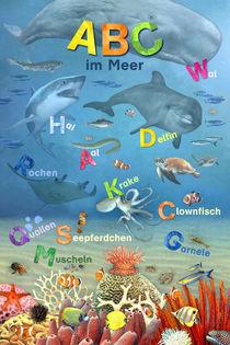 Wimmelbild_ABC im Meer von Marion Krätschmer