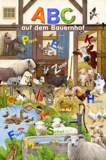 Wimmelbild_ABC auf dem Bauernhof von Marion Krätschmer