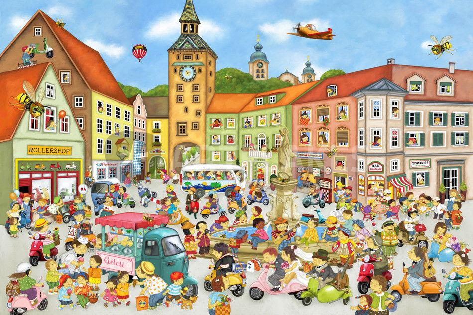 Stadt In Der