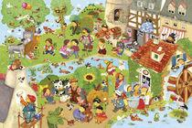 Wimmelbild_Kunterbunte Kinderlieder by Marion Krätschmer