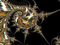 Golden Spirals and Spikes by Elisabeth  Lucas