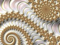 White and Gold Fairytale von Elisabeth  Lucas