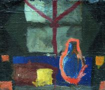 Blue Botle von Wojtek Kowalski