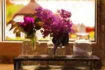 Blümchen am Fenster von mario-s