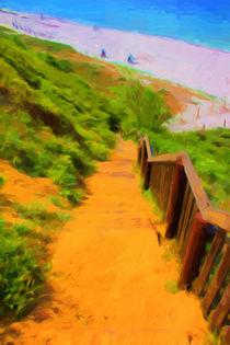 Strandzugang auf Hiddensee von mario-s