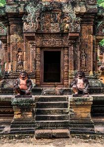 Entrance to the temple by Jarek Blaminsky