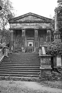 SHEFFIELD. The General Cemetary. Old Chapel. by Lachlan Main