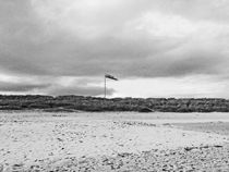 SCOTLAND. Findhorn Bay. Windsock On The Beach. by Lachlan Main
