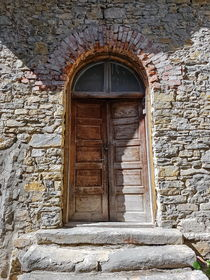 Closed old Door  by Enache Armand Iustinian