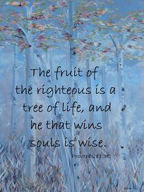 He That Wins Souls by eloiseart
