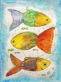 Fröhliche Fische – Happy fishes von STEFARO .