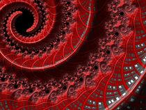 Red Twirl von Elisabeth  Lucas