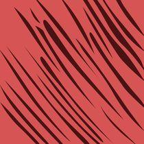 exotic, design lines : wood  red von Jana Guothova
