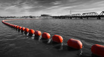 Red Buoys von Elisabeth  Lucas