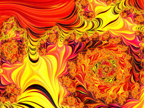 Fire Swirls von Elisabeth  Lucas
