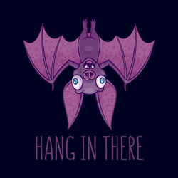 Wacky-bat-hang-print