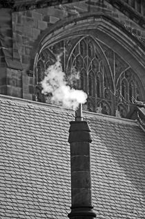 CHESTER. Cathedral & Chimney. by Lachlan Main