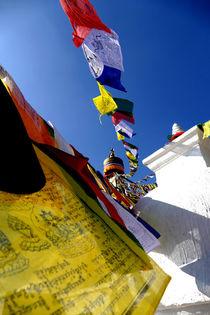 Colourful Prayer Flags by Felix Van Zyl