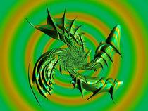 Green Windmill von Elisabeth  Lucas