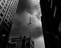 Downtown Toronto Fogfest No 5 by Brian Carson