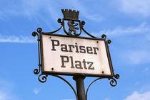 Pariser Platz Berlin von Sascha Stoll