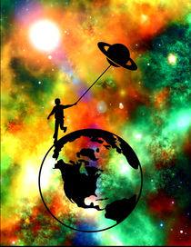 Planet Earth Child Universe by Felix Van Zyl