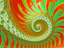 Attractive Autumn Spiral von Elisabeth  Lucas