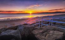 Aberavon beach sunset von Leighton Collins