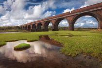 The Eleven Arches viaduct von Leighton Collins