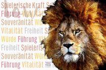 Löwe - König voller Kraft von Astrid Ryzek