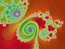 Dainty Autumn Spirals von Elisabeth  Lucas